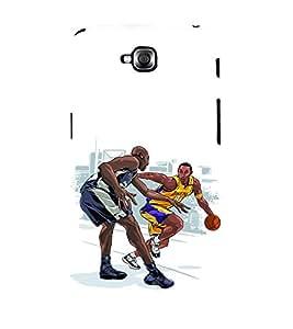 printtech Basketball Sports Back Case Cover for LG GPro Lite / LG G Pro Lite Dual D686