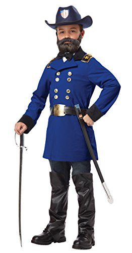 California Costumes Union General Ulysses S. Grant Boy Costume, One Color, Large (California Ties compare prices)