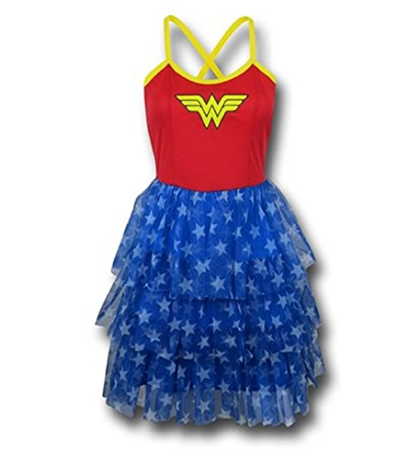 Bio World Merch Wonder Woman Mini Skirt Tutu Dress