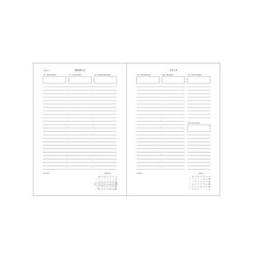 agenda paperblankspaperblanksnoirmarocainformatgrand210x 300mm 1semainesur2pagesdf24941. Black Bedroom Furniture Sets. Home Design Ideas