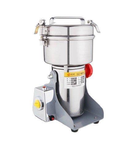 Family Stainless Steel Grain Mill Cereal Mill Herb Grinder Powder Machine , Pulverizer 500G