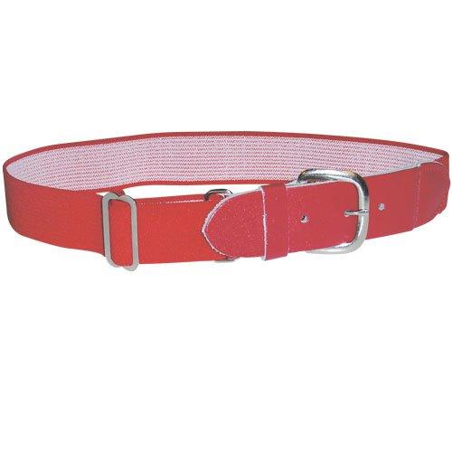 Sport Supply Group Baseball Belts, One Size, Black front-669128