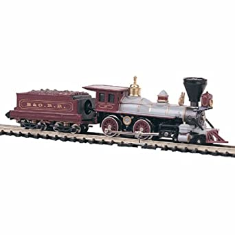 Bachmann Industries 4-4-0 American - Baltimore and Ohio N Scale