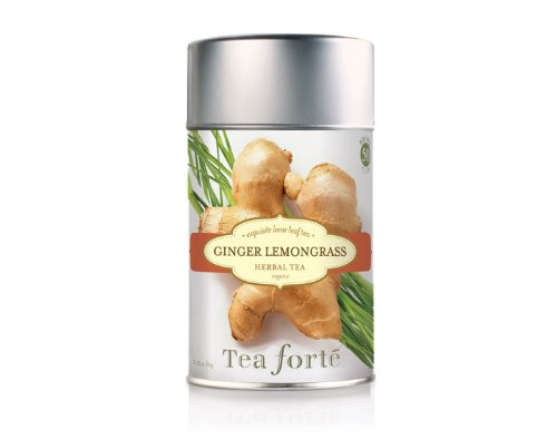 Tea Forte Loose Leaf Tea Canister - Ginger Lemongrass