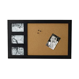 Melannco, Cork Board Frame with 3 Openings