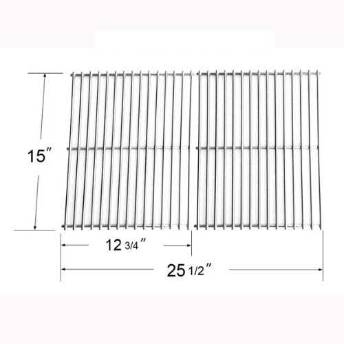 64362 - Stainless Steel Cooking Grid For Broil King, Broil-Mate, Silver Chef And Sterling Gas Grill