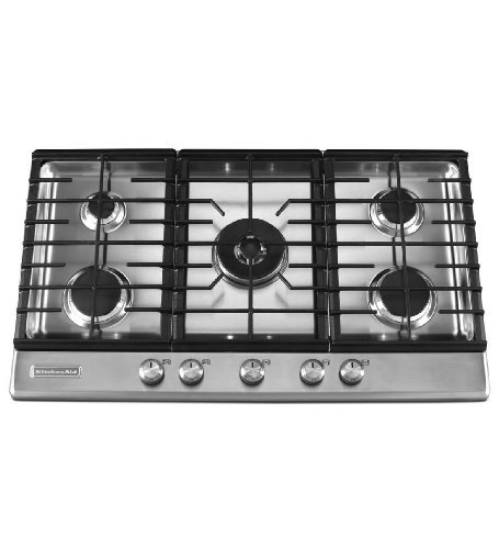 Kitchenaid KFGS366VSS 5 Burners Stainless Steel Surface Architect Series II