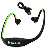 Micromax X281 COMPATIBLE BS19 Wireless Bluetooth On-ear Sports Headset Headphones (with Micro Sd Card Slot and FM Radio)