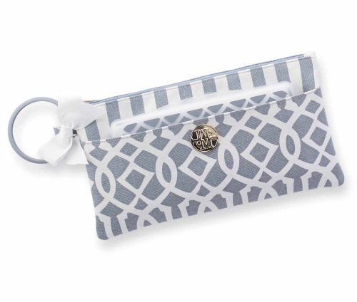 Mud Pie Lil Biter Bangle Bag, Gray