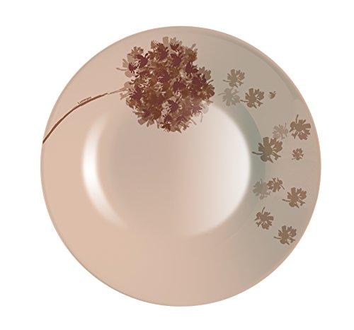 Luminarc-9211911-Lot-de-6-Assiettes-Creuses-Stella-Verre-Chocolat-215-x-215-x-32-cm