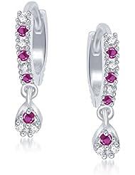 Meenaz Bali Ear Rings For Girls Hoop Earrings For Women In American Diamond Jewellery For Women