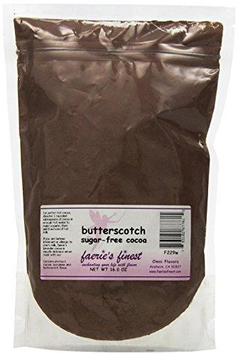 Faeries Finest Sugar-Free Cocoa, Butterscotch, 16 Ounce