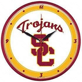USC Trogans NCAA Wall Clock