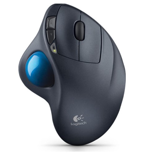 Logitech M570  Wireless Trackball mouse.  Helps my carpal tunnel SO much