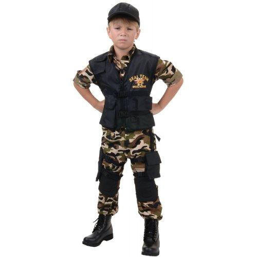 Deluxe Seal Team Vi Costume - Small