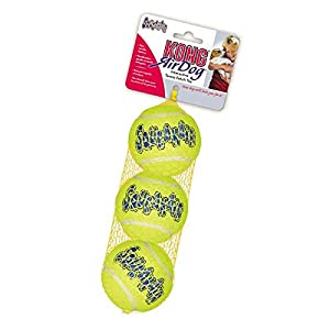 Kong Air Squeakair Ball, Medium, Pack of 3