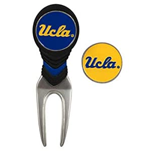 UCLA Golf Ball Mark Repair Tool and Ball Markers