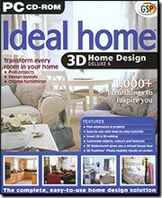 New GSP 3D Ideal Home Design Deluxe Comprehensive Object Library 7500 Plant Encyclopedia