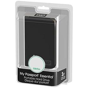 Western Digital My Passport Essential 320 GB USB 2.0 Portable Hard Drive WDME3200TN