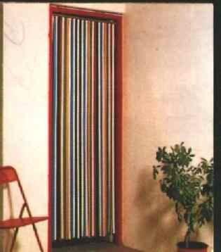 Door curtains to stop flies