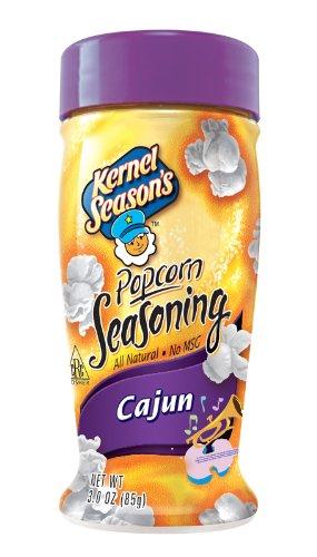 Kernel Season's Cajun Popcorn Seasoning, 2.4 Ounce Shakers (Pack of 6)