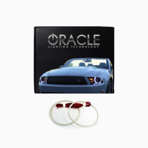 Oracle Lighting Do-Ch0510F-W - Dodge Charger Led Halo Fog Light Rings - White
