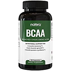 Accelerate your Fitness Goals! Enhance your Muscle Growth, Recover Faster and Achieve a Visible Definition with the Power of BCAAs  TOP FEATURES:• 30 servings - 60 Capsules | A full 1-month supply.  • Capsule formulation - Easy to swallow and transpo...