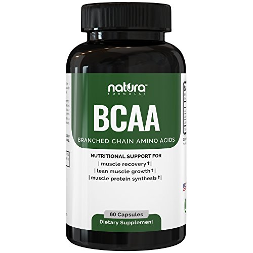 Top Rated BCAA Capsules | Most Potent Branched Chain Amino Acids on Amazon | The Best Natural Bodybuilding Supplement for Muscle Recovery, Muscle Building and Weight Loss | 60 Capsules (Organic Bcaa compare prices)