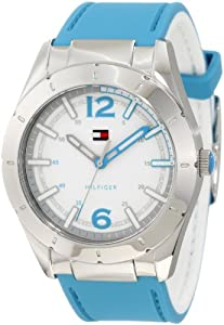 Tommy Hilfiger Women's 1781192 Sport Silicon Reversible Watch