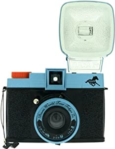Lomography Diana F+ Tokyo Rising Camera w/ Flash, Color Gel Filters 575