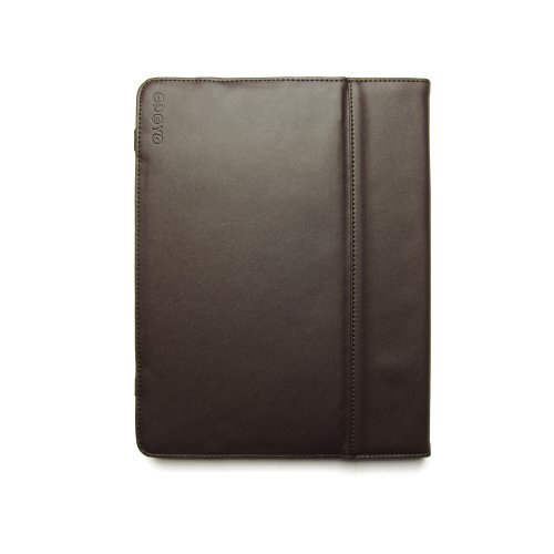 Folio Case Odoyo iPad Generations Genuine LeatherFolio Leder braun für Apple iPad 2 Gen. - A1395 / iPad 2 Gen. - A1396 / iPad 2 Gen. - A1397 / iPad 3 Gen. - A1416 / iPad 4 Gen. (Retina) - A1458 / iPad 3 Gen. - A1430 / iPad 3 Gen. - A1403 / iPad 4 Gen. (Retina) - A1459 / iPad 4 Gen. (Retina) - A1460 Tasche Case Hülle Etui Schutzhülle