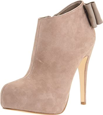 DV By Dolce Vita Women's Banya Bootie,Taupe Suede,10 M US