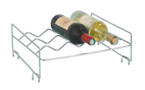 Wenko 2320100 scaffale portabottiglie sovrapponibile portastoviglie - Scaffale portabottiglie ...