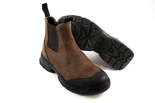 Euro-Dan Walki Sport Stiefelette con pronose e kevlar intermedia S3 SRC protezione dita, Marrone (Marrone (Braun)), 50
