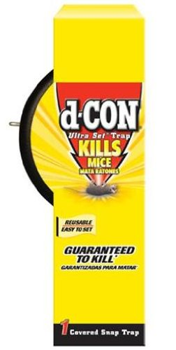 d-CON Ultra Set Covered Snap Mouse Trap, 1 Count
