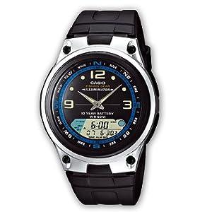 Casio #AW82-1AV Men's Analog Digital Fishing Gear Moon Data Watch