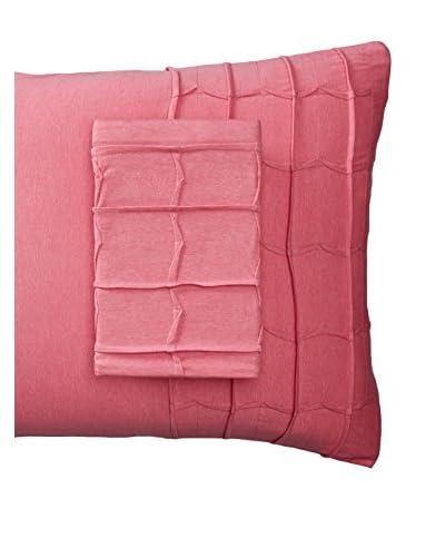 lazybones Standard Pillowcase Set, Raspberry