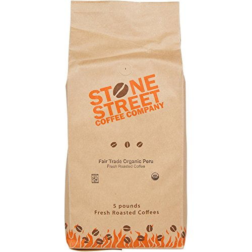 100% Fair Trade Organic Peru | Whole Bean Coffee | Medium Roast