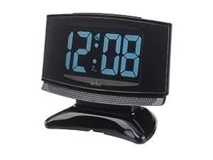 plasma led radio controlled alarm clock kitchen home. Black Bedroom Furniture Sets. Home Design Ideas