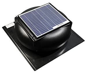 honeywell 527shon100blk 12 watt roof mount solar powered attic best