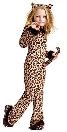 Pretty Leopard Kids Costume