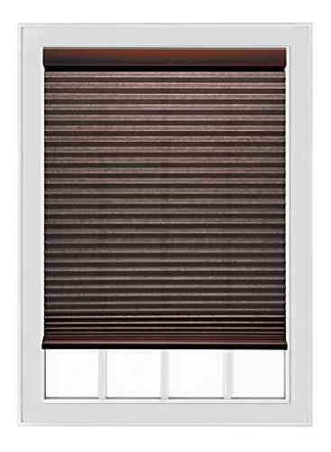 """Mio Cocoa Cordless Single Cell 9/16"""" Cellular Shade, 27"""" x 54"""""""