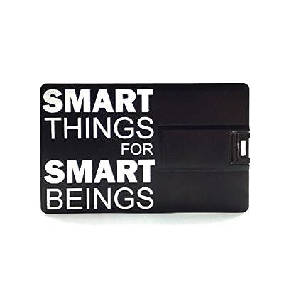 Smiledrive 16GB FANCY DESIGNER CREDIT CARD USB PENDRIVE (BLACK)