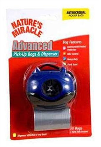Nature's Miracle Blue Hydrant Dog Pick-Up Bag Dispenser