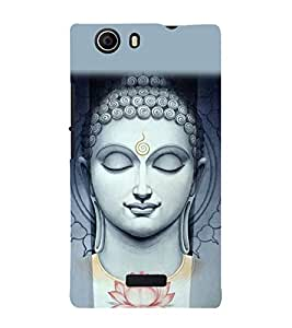 Buddha Wallpaper 3D Hard Polycarbonate Designer Back Case Cover for Micromax Canvas Nitro 2 E311 :: Micromax Canvas Nitro 2 (2nd Gen)
