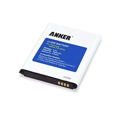 Anker 2200mAh Replacement Battery for Samsung Galaxy S3, I9300, I9305 LTE [NFC Capable]