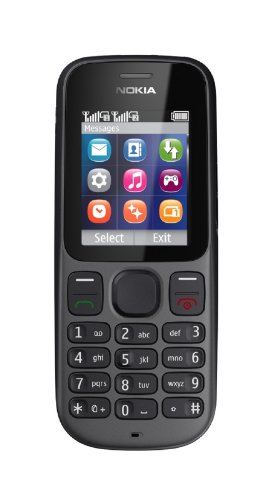 Nokia 100 Unlocked GSM Phone with Dual Band, 1.8