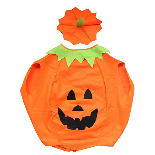 Halloween Pumpkin Costume Fancy Dress Cosplay for Adult (Fancy Dress Costume)