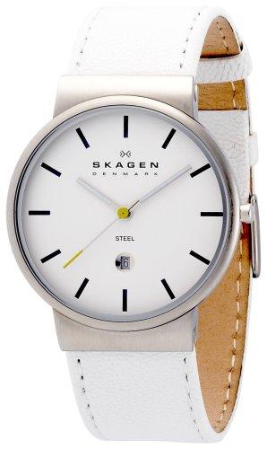 SKAGEN (スカーゲン) 腕時計 basic leather mens J351XLSLW ケース幅: 36mm メンズ [正規輸入品]