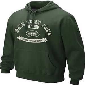 New York Jet Sweatshirts : Nike New York Jets Green Washed Cotton